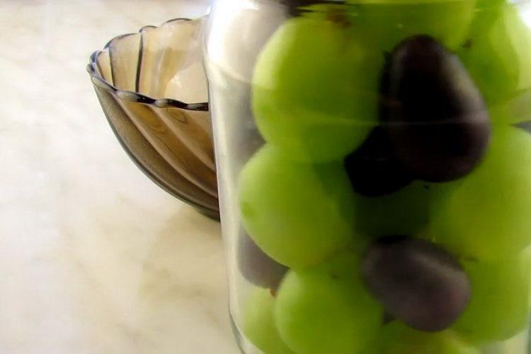 Готовим виноград на зиму