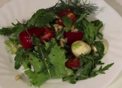 Применение гранатового соуса из Турции — вкусный овощной салат綾