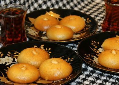 Нежная и вкусная турецкая 🥝 сладость Шекерпаре