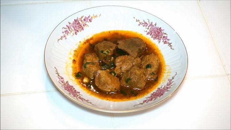 Жаркое из свинины в казане - вкусно и просто