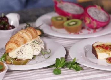 Завтрак в постель за 10 минут 🥝 для любимого человека