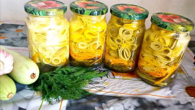 Заготовки из кабачков на зиму - золотые рецепты с фото