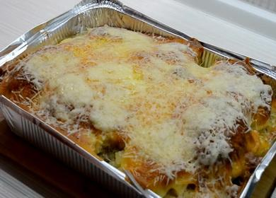 Курица с ананасами 🥝 и картофелем под сыром в духовке