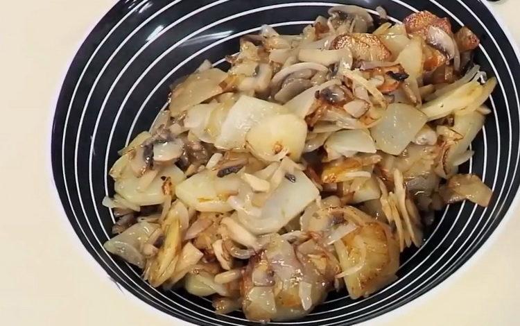 Как пожарить картошку по пошаговому рецепту с фото