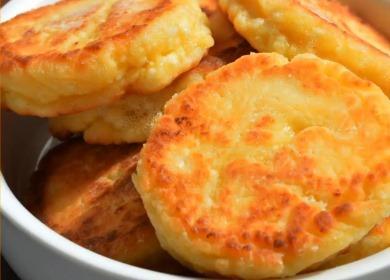 Как приготовить вкусные сырники 諾 из творога на сковороде