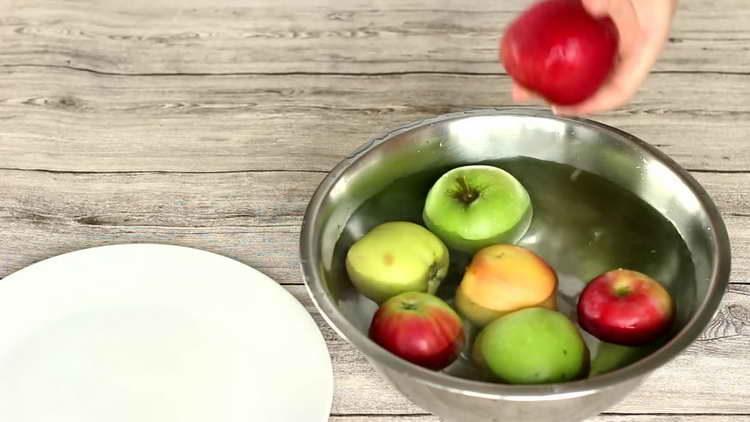 моем килограмм яблок