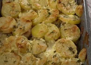 Запеченная свинина 諾 с картошкой в духовке