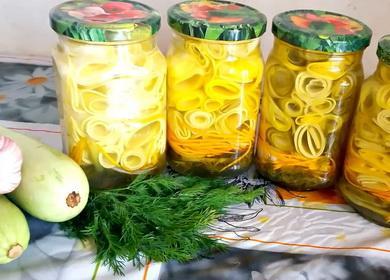 Золотые рецепты заготовки 🥝 из кабачков на зиму