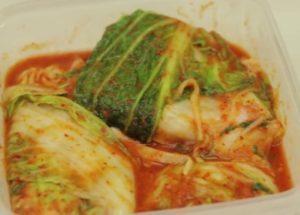 простое блюдо корейской кухни