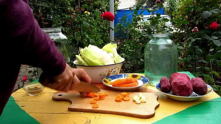 морковку режим кружочками