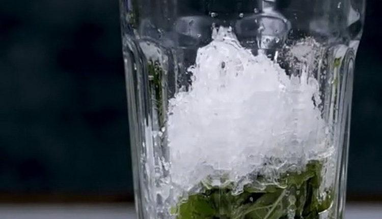 добавьте лед