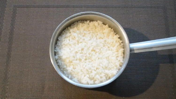 Отварите рис