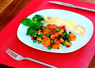 Диетические блюда всего 諾 за 5 минут