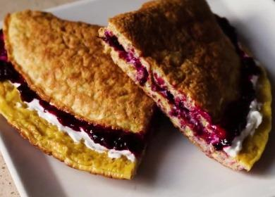 Простой и полезный завтрак 諾 — 5 начинок для овсяноблина