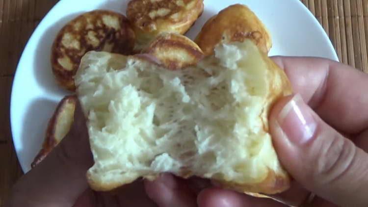 оладьи на кефире без яиц
