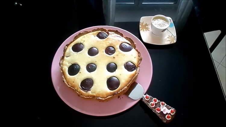 пирог со сливами от юлии высоцкой