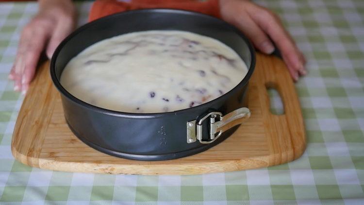 Пирог с малиной по пошаговому рецепту с фото