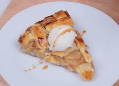 Невероятно вкусный пирог с яблоками в духовке
