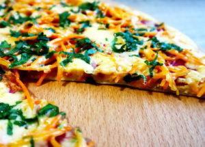 Пицца за 5 минут на сковороде по пошаговому рецепту с фото