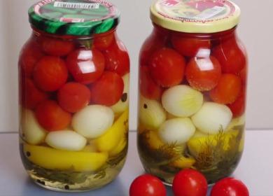 Вкусные помидоры по-чешски на зиму