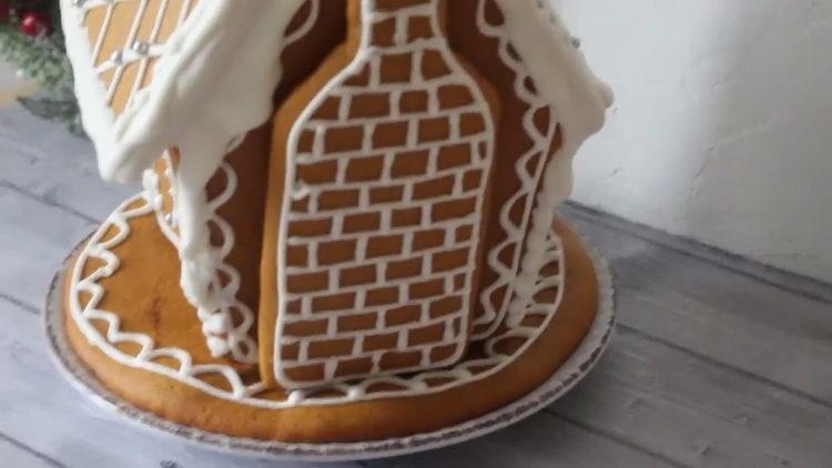 Очень простой пряничный домик - получится у каждого