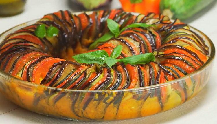 Рецепт французского блюда Рататуй