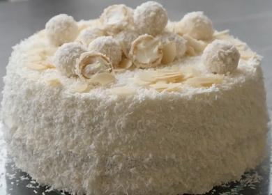 Невероятно вкусный торт 🥝 «Рафаэлло»