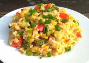 рецепт вкусного риса с овощами