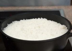 Как правильно варить рис в кастрюле на воде