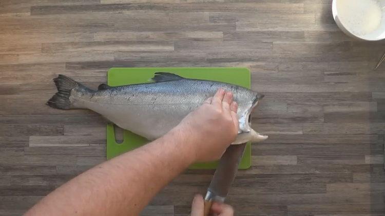 подготовьте рыбу