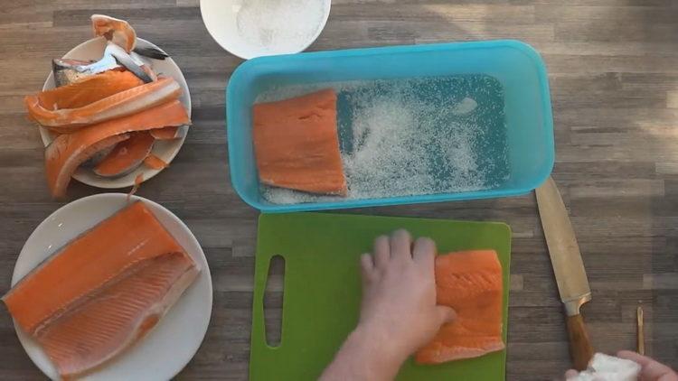 Как готовится кижуч рыба