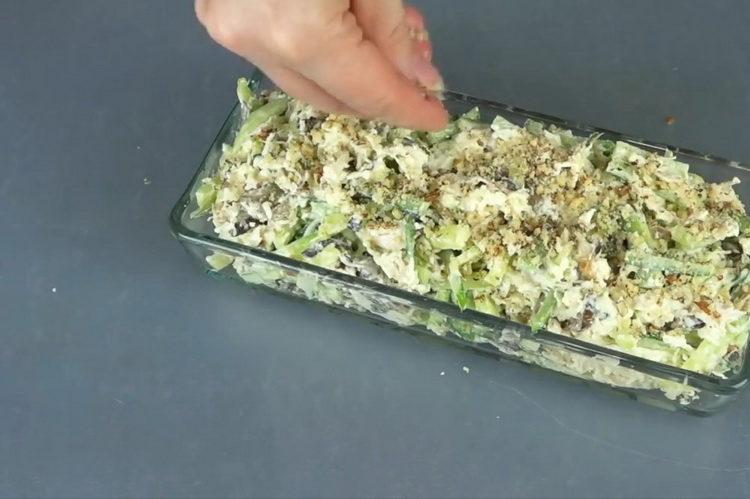 Мясной салат по пошаговому рецепту с фото