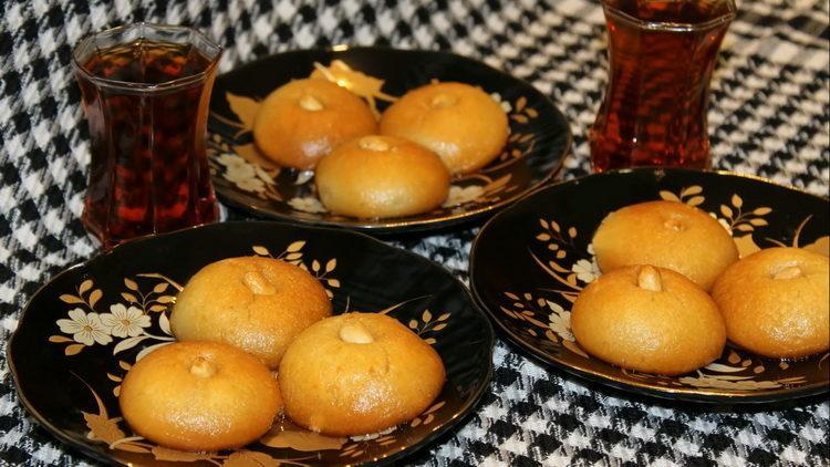 Нежная и вкусная турецкая сладость Шекерпаре
