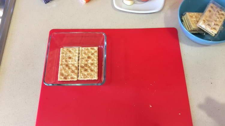 выкладываем крекер в форму