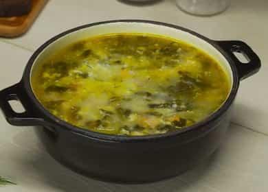 Вкусный и диетический 諾 щавелевый суп
