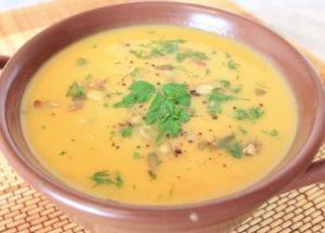 готовим обалденный тыквенный суп пюре