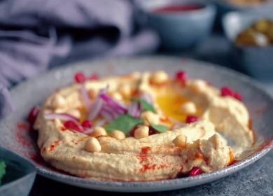 Рецепт вкусного и сытного 🥝 хумуса