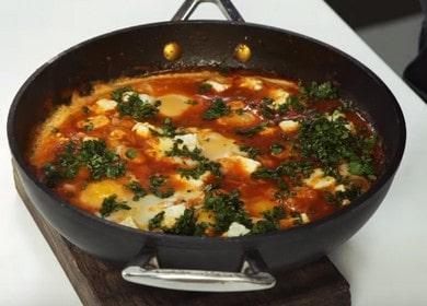 Израильская яичница Шакшука 諾 — простой рецепт