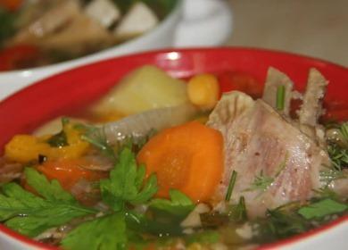 Вкусная домашняя шурпа 🥝 из баранины
