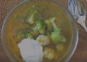 Готовим легкий и вкусный вегетарианский суп: рецепт с пошаговыми фото