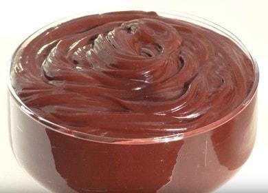 Вкусный заварной шоколадный 🥝 крем