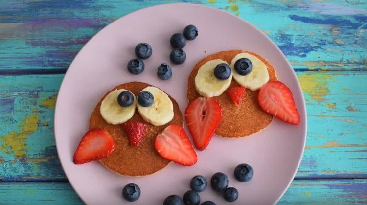 такой завтрак для детей получается не только вкусным, но и полезным.