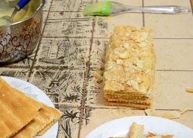 Вкусное и нежное пирожное 🥝 Наполеон