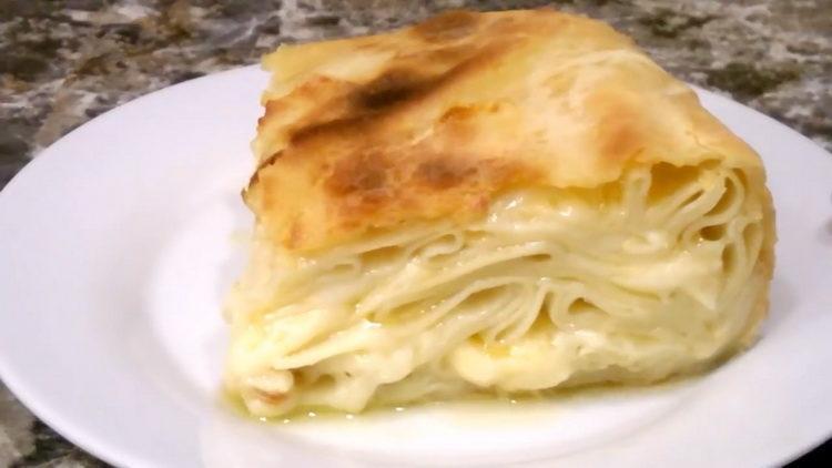 Ачма с сыром - изумительный рецепт