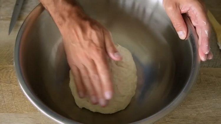 приготовьте тесто