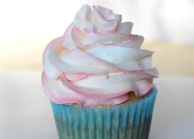 Белково-масляный крем 🥝 для украшения тортов