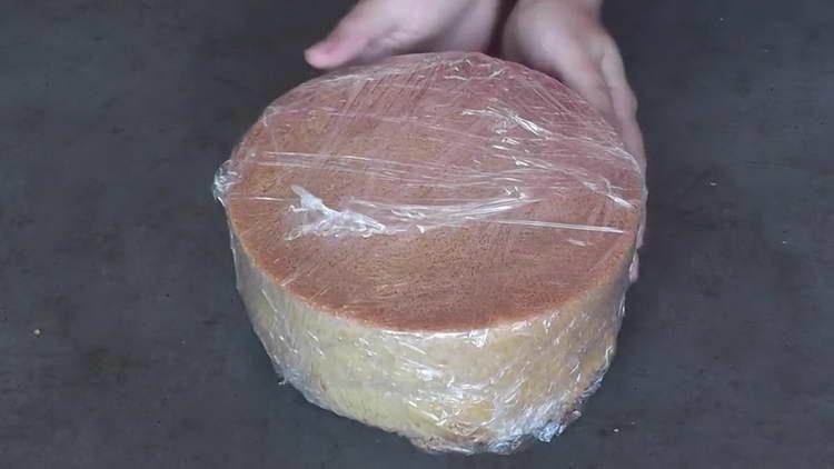 бисквит на кипятке