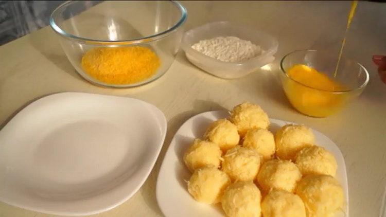 приготовьте яйца