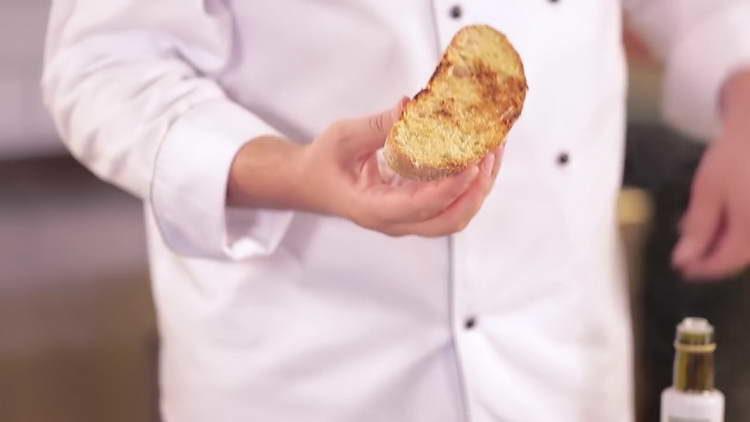 жарим хлеб до корочки