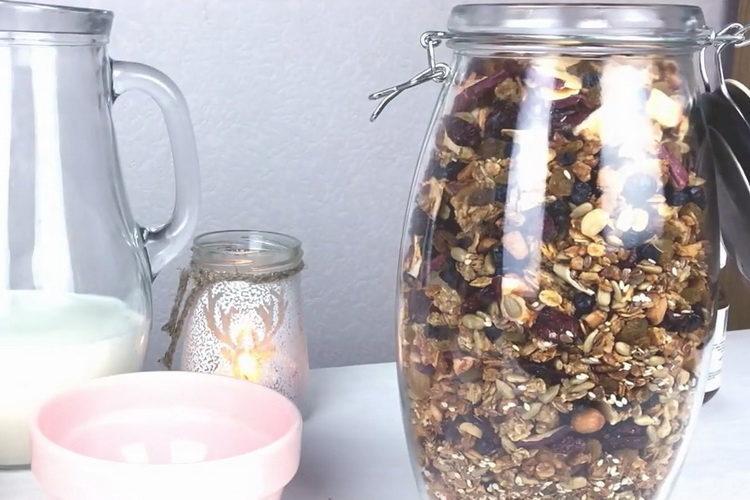 Рецепт гранолы в домашних условиях на завтрак